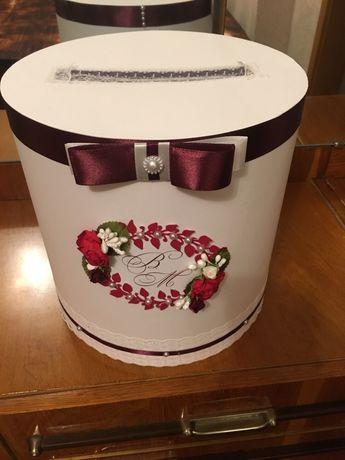 Весільна коробка для грошей