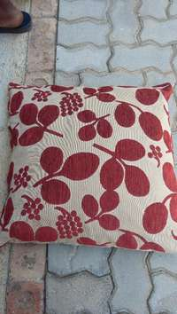 Image of Plenty of cushions with nice covers in good condition