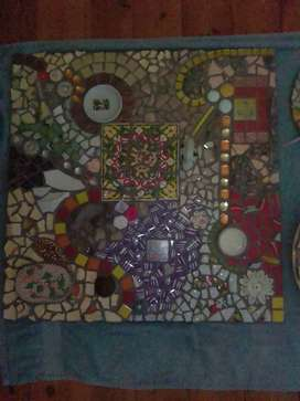 Various Mosaics works for sale