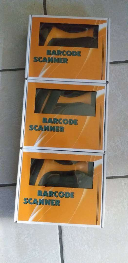 Wireless Barcode Laser Scanner