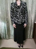 костюм тройка корсет юбка и пиджак