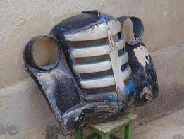 Облицовочная решетка радиатора на Москвич 401