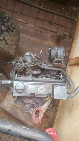 Vw 2l agg engin complete only need carb or fuel injection