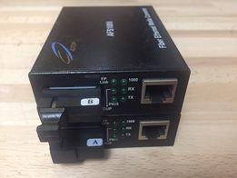 Медиаконверторы, дальность 80 км ATOP AFS1000-80 пара 1Гбит, WDM , S