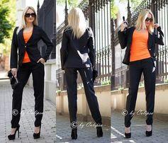 Продам женский костюм пиджак и брюки размер С