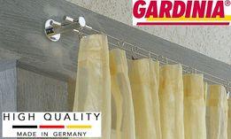 GARDINIA Немецкие струнные карнизы (5м) и аксессуары. 100% оригинал!