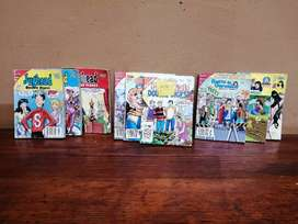 Collection of 9 vintage Archie comic digests.