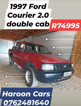 Call Haroon Ford Courier 2.0 Double Cab