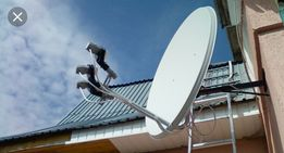 Установка спутникового телевидения,Т-2, ремонт