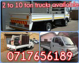 Household Removals and Bakkie rentals at affordable prices