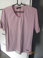 t-shirt bluzka wrzosowa fioletowa XXL 42 44