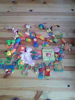 Duzy zestaw zabawek dla niemowlaka 27 szt