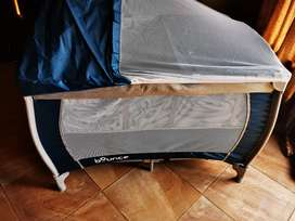 Camping cot, bouncer, snuggle safety pod, car seat, playmat