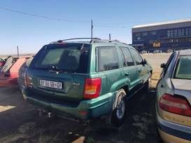 JEEP GRAND CHEROKEE V8.STRIPING FOR PARTS
