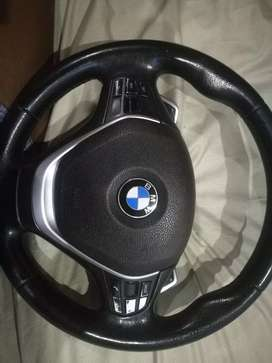 Steering wheel for f30 BMW complete with pedal shifts