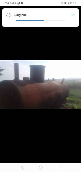 Tank for manufacturing charcoal for sale