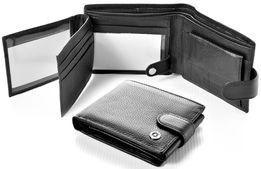 Мужской кожаный кошелек портмоне BOSTON натуральная кожа из турция.