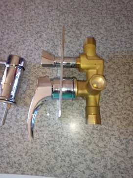 Bathroom mixer and kitchen mixer both 400