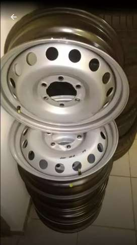 "17"" Toyota hilux steel rims for sale(each)"