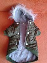 Ubranko dla pieska - kurteczka ocieplana/york, shih-tzu, maltańczyk