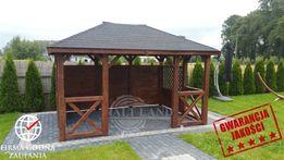 Altana ogrodowa 3m x 4m drewniana Altanka Altanki DomekPRODUCENT