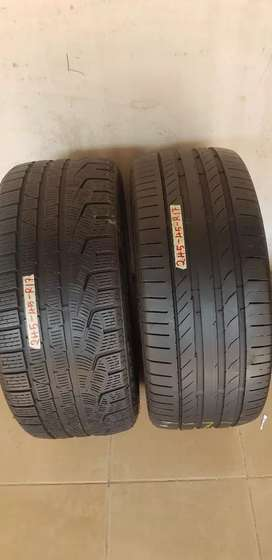 Tyres size 245/45/R17