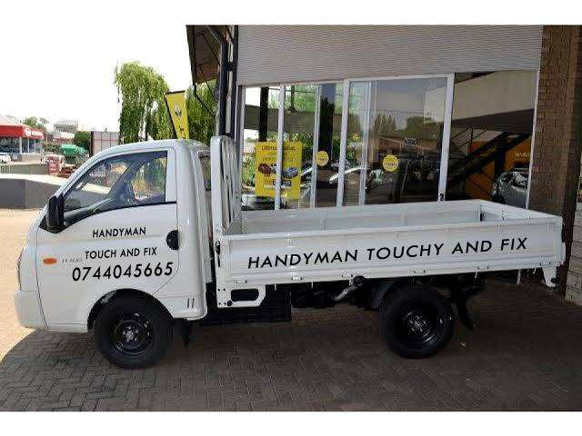 HANDYMAN TOUCHY AND FIX