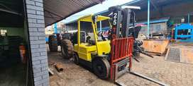 2.5ton Hyster Diesel forklift. 100% mechanically sound
