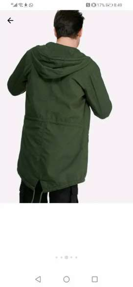 Second hand Pro Parka jacket, Army green. Excellent condition