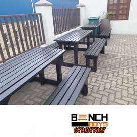Canteen and restaurant benches