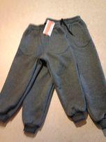 Детские спортивные,трикотажные,тёплые штаны на флисе с 32 по 38 размер