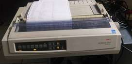 OKI Microline 3321 Dot Matrix Printer (Airtimes)
