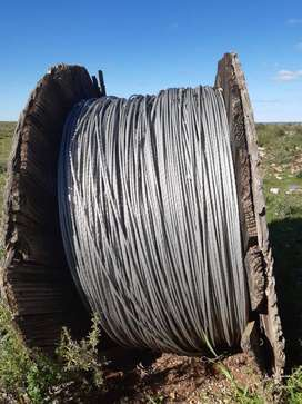 6000m 6 strand overhead cable.7.2mm