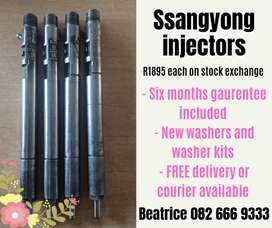 Ssangyong diesel injectors for sale