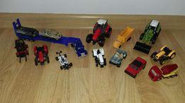 Zestaw traktory samochody