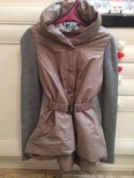 Демисезонная куртка-плащ + подарочек