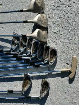 Complete Pro Golf set incl. cart