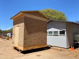 Mobile Office Security Shed Control Room