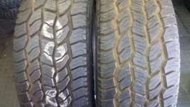 Two New tyres cooper Discoverer AT3 sizes 265/50/20 now available