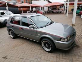 Toyota Tazz 130 with mags