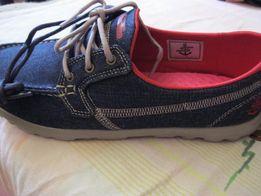 Женские джинсовые красовки Skechers из США ОРИГИНАЛ