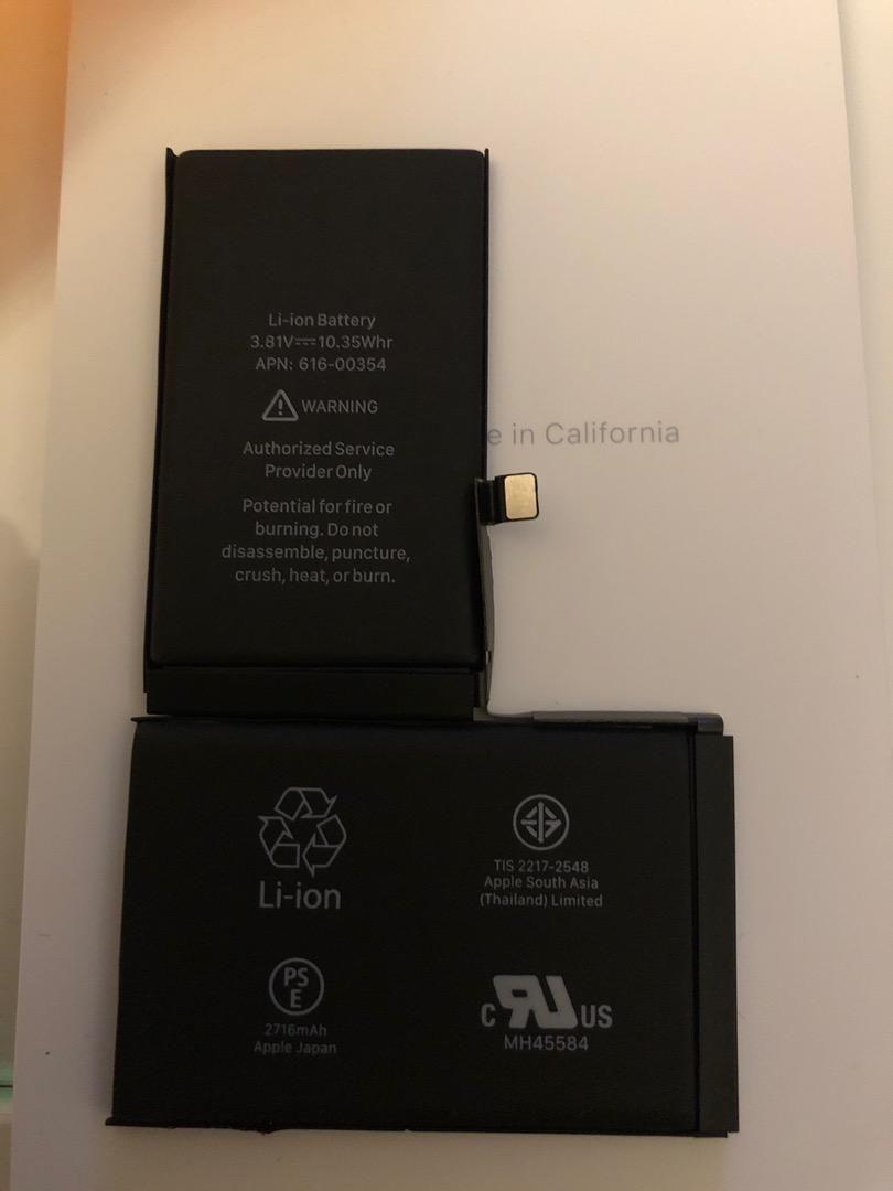 Iphone X baterie 98% 0