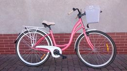 """Rower Miejski # Łabędź # Rama 17"""" Koło 28"""" Kosz !"""