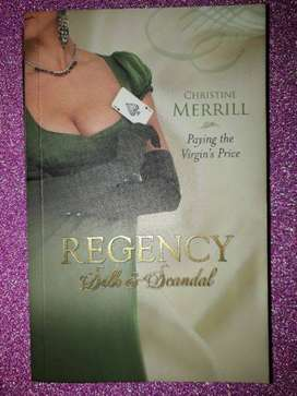 Christine Merrill  Mills & Boon Regency Silk & Scandal #2.