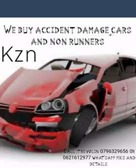 We buy accident damage cars