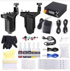 Brand Solong Professional Rotary Machine 2 guns complete Tattoo Kit