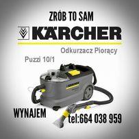 Pranie dywanow czyszczenie tapicerki Wynajem karcher puzzi 50zl/24h