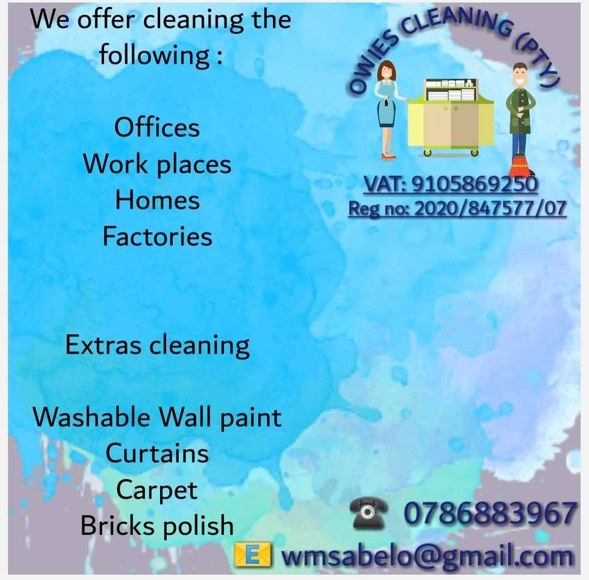 Oweis Cleaning (PTY) 0