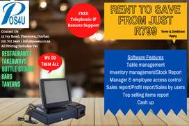 Complete POS System Rental Package