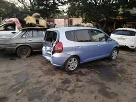 Honda Jazz auto now stripping for parts